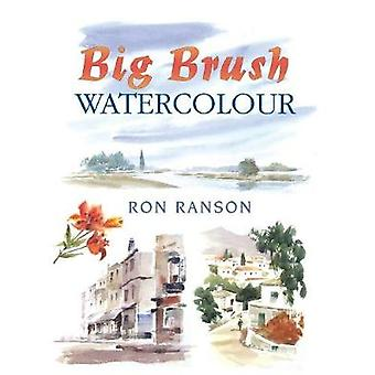 Big Brush Watercolor by Ron Ranson - 9780715301951 Book