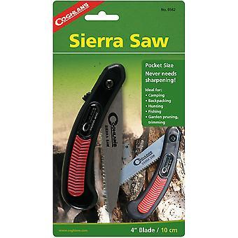 Coghlan's Pocket Sierra Saw Folding Knife w/ 4-inch Serrated Backpacking Blade