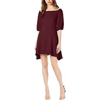 Bar III | Solid Off The Shoulder Dress