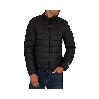 Replay Nylon Slim Fit Black Jacket