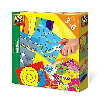 SES Creative I Learn to Use Scissors Kit Unisex Ages 3 à 6 Years Multi-color