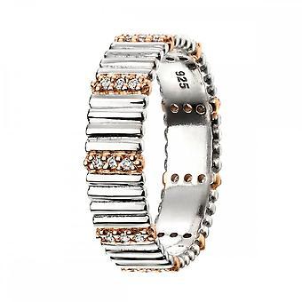 Элементы Серебряное кольцо с петлей R3502C