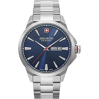 Militar suizo Hanowa 06-5346.04.003 Día clásico reloj masculino