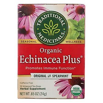 Traditional Medicinals Teas Organic Echinacea Plus Tea, 16 Bags