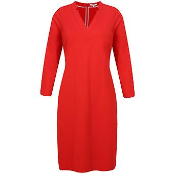 Sandwich Clothing Red Jersey Shift Dress
