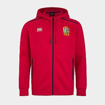Canterbury British and Irish Lions Full Zip Hoodie Mens