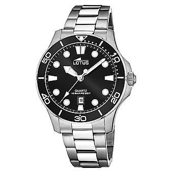 Lotus Men's Stainless Steel Bracelet |Black Dial L18762/2 Watch