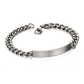 Fred Bennett Stainless Steel Id Bracelet