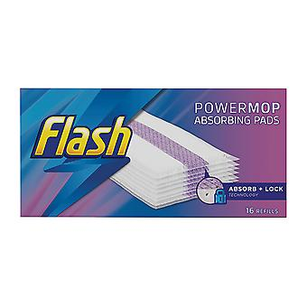 Proctor & Gamble Flash Powermop Refill Pads x 16