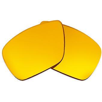 Polarizované náhradné šošovky pre Oakley Dispatch 1 slnečné okuliare Anti-Scratch Gold