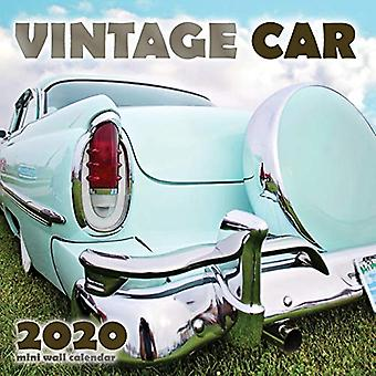 Vintage Coche 2020 Mini Calendario de Pared