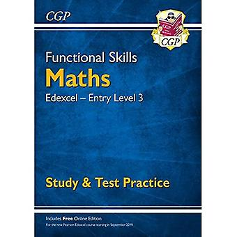 New Functional Skills Edexcel Maths Entry Level 3 - Study & Test Practicea� (with Online Edition)