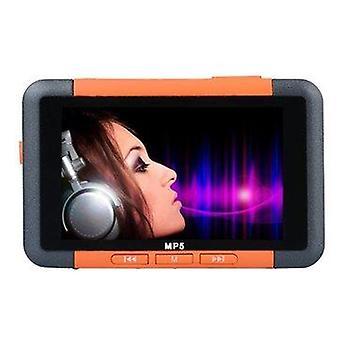 Bang dobrý 3 palcový Slim LCD displej hudobný prehrávač 8GB MP5 s FM rádio video