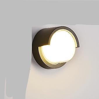 Nowoczesna wodoodporna dioda LED, lampa ścienna z czujnikiem ruchu