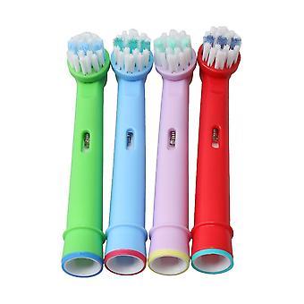4Pieces Elektryczna główka szczoteczki do zębów EB-10A Okrągły koniec do części tootbrush