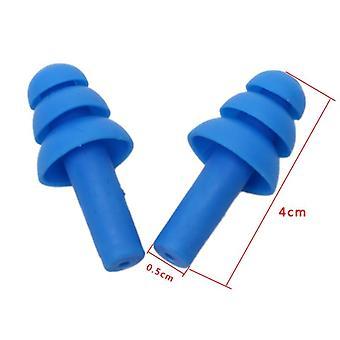 Réduction du bruit, bouchons d'oreille souples en silicone, confort de sommeil protecteur de natation