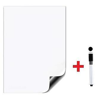 A4 Rozmiar Dry Erase Magnetic White Board Kit