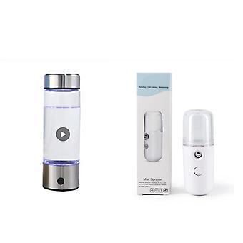 Hydrogen vannflaske + sprøyter