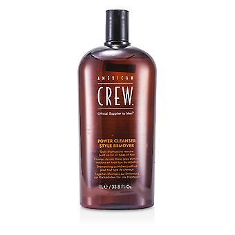 Miesten tehon puhdistusaine tyylin poistaja päivittäin shampoo (kaikentyyppisille hiuksille) 166062 1000ml / 33.8oz