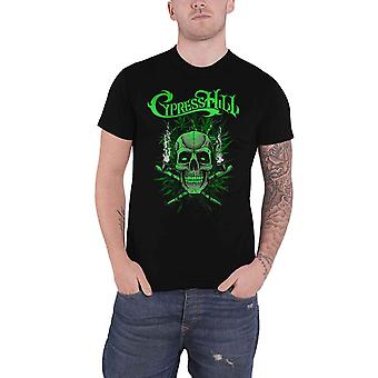 Cypress Hill T Shirt Twin Pipes Band Logo new Official Mens Black