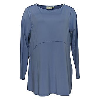 Joan Rivers Classics Collection Women's Top Jersey Knit Purple A347271