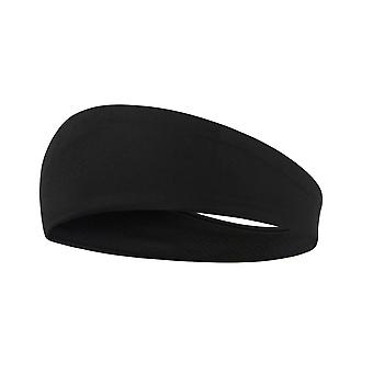 1 pc Simple style Running Hair Wrap for Women Man Washing Face Shower (Black)