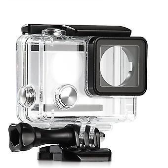 تحت الماء ماء الحماية الغوص حالة الإسكان ل GoPro بطل 3 + 4 كاميرا