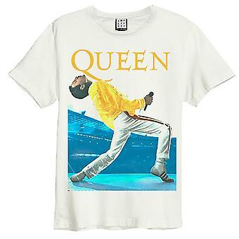 Amplified Queen Freddie Mercury Triangle T-Shirt