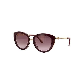 Cartier CT0247S 003 Burgundy/Red Sunglasses