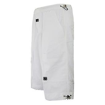 Nike Jordan Vit Basket Shorts Mens Långbyxor 133679 100