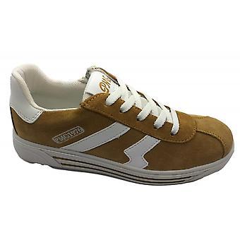 PRIMIGI Laced & Zipped Shoe Tan