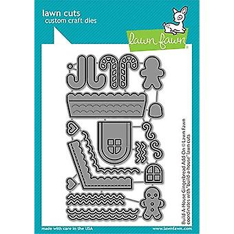 Lawn Fawn Build-A-House Gingerbread Add-On Dies