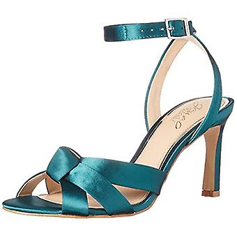 BADGLEY MISCHKA Women's Shoes Rhonda Fabric Open Toe Casual Ankle Strap Sandals