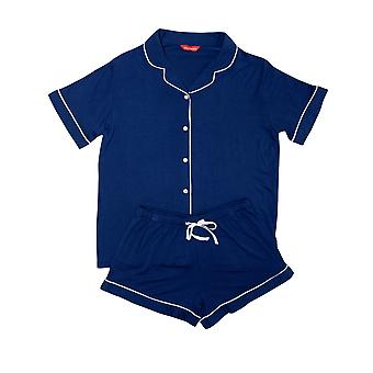 Minijammies Libby 5695 Girl's Indigo Modal Pyjama Set