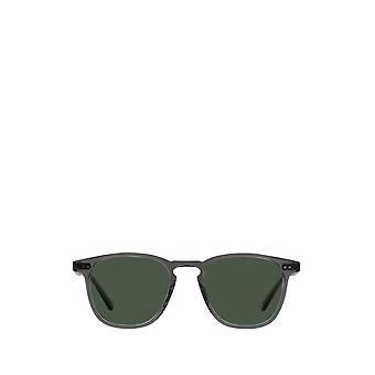 Garrett Leight BROOKS SUN grey crystal unisex sunglasses