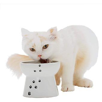 NECOICHI Erhöhte Katze Futter Schale groß