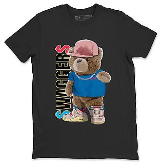 Bear Swaggers T-Shirt Jordan 4 Union Guava Ice Sneaker Outfit