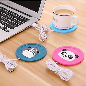 Usb Warmer Gadget Cartoon Silicone Dunne Cup-pad