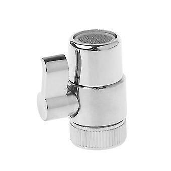 3-way Diverter Valve Faucet Connector Adapter Head Function Switch