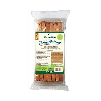 Organic Spelled Slices With Raisins 240 g
