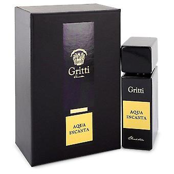 Aqua Incanta Eau De Parfum Spray By Gritti 3.4 oz Eau De Parfum Spray