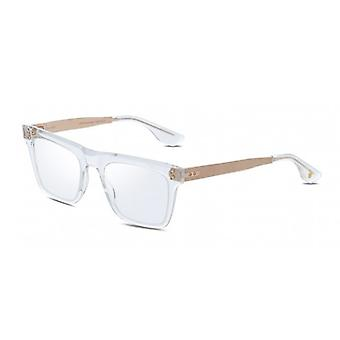 Dita Telion DTX120 03 Crystal Clear-White Gold Glasses