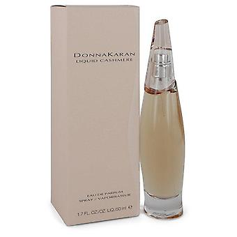 Liquid Cashmere Eau De Parfum Spray By Donna Karan 1.7 oz Eau De Parfum Spray