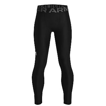 Under Armour Kids HG Leggings Baselayer Tights Compression Sports Bottoms