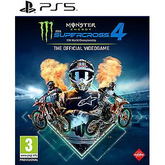 Monster Energy Supercross The Official Videogame 4Game PS5