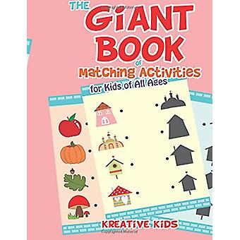 The Giant Book of Matching Activities for Kids of All Ages by Kreativ