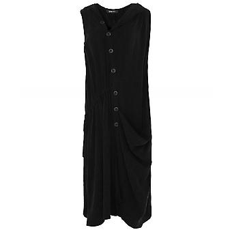Crea Concept Draped Hooded Dress