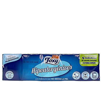 Foxy Hipoalergenicos Pañuelos 10 X 9 Uds Unisex