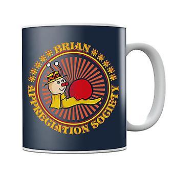 The Magic Roundabout Brian Appreciation Society Mug