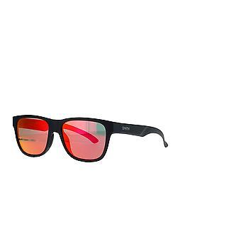 Smith Lowdown Slim 2 003/UZ Matta Musta/Oranssi Peili Aurinkolasit